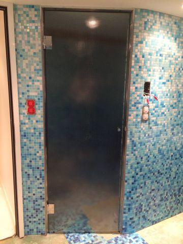 Portes pour saunas et Hamams